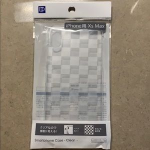 Clear Thin IPhone XS Max case snap on brand new